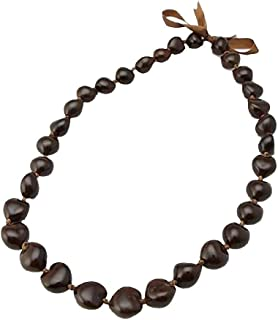 hawaiian kukui nut beads