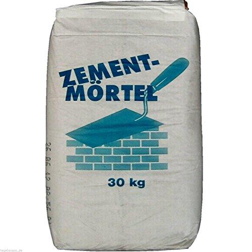30Kg Mauermörtel 0,33€/Kg Putzmörtel Trockenmörtel Zement-Mörtel zum Mauern + Putzen