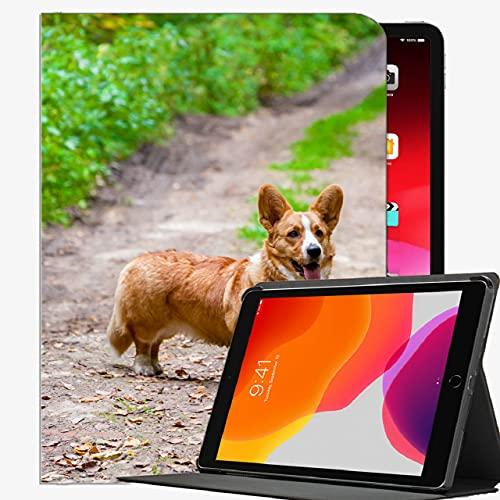 Caso Inteligente para el iPad Air 2, Corgi Perro Que sobresale la Cubierta Delgada Cubierta de la Cubierta Delgada para iPad Air2 9.7 Pulgadas