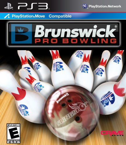 Brunswick Pro Bowling *compatible with Move - Playstation 3