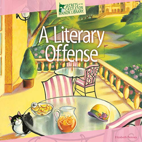 A Literary Offense audiobook cover art