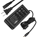 19V Power Supply Cord for HP-Pavilion 22cwa 27xw 27xi 27es 24ea 25xw 25bw 25xi 24es 25es 23tm 23xw 23cw 23xi Monitor 20' 21.5' 23' 23.8' 25' 27' IPS LED Display, UL Listed F1TP 19 Volt AC/DC Adapter