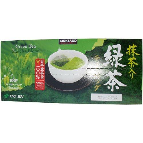 Kirkland Signature Green Tea Matcha Blend 100 Tea Bags