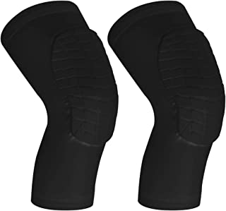 Cantop Knee Pads and Elbow Pads for 1 Pair Basketball Football Volleyball Leg Sleeve Kneepad Padded Support Knee Brace Shin Guards for Girls Boys Kids Men Women