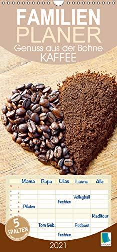 Kaffee: Genuss aus der Bohne (Wandkalender 2021, 21 cm x 45 cm, hoch)