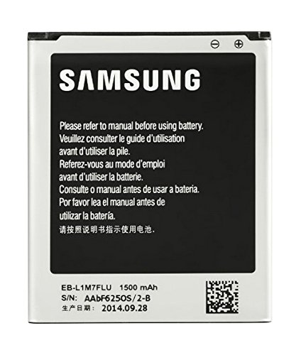 Samsung 1500mAh Li-Ion Batteria Nero, Argento