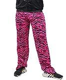 Foxxeo Jogginghose 80er Jahre Kostüm Trainingsanzug Assianzug Jogginganzug Retro schwarz pink S -...
