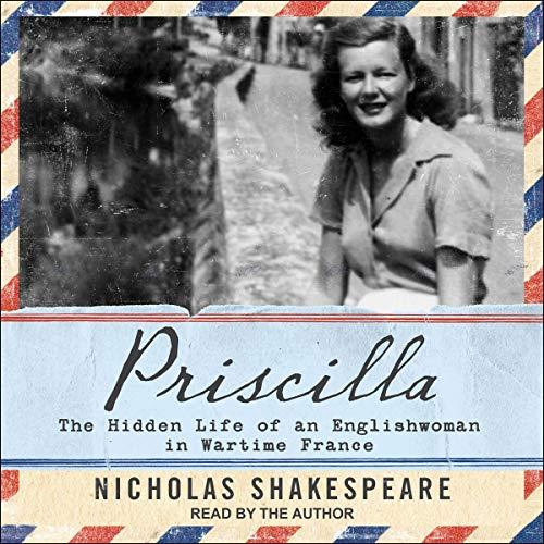 Priscilla audiobook cover art