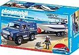Playmobil 5187 - Polizei-Truck mit Speedboot