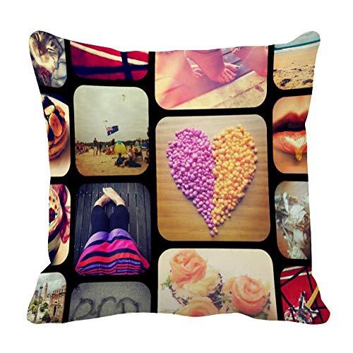 Perfecone Home Improvement - Funda de almohada para sofá y coche, 1 paquete de 50 x 50 cm