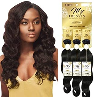 Outre My Tresses 100% Unprocessed Human Hair Gold Label Triple Bundle Pack OCEAN BODY 16