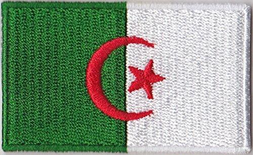 Flaggen Aufnäher Patch Algerien Fahne Flagge - 6 x 3,5 cm