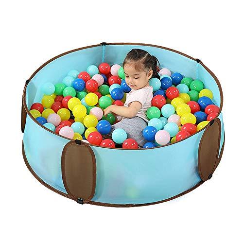 Pezón de bolas para niños grande desplegable para niños, impermeable, plegable, portátil, con bolsa de transporte, para interior y exterior
