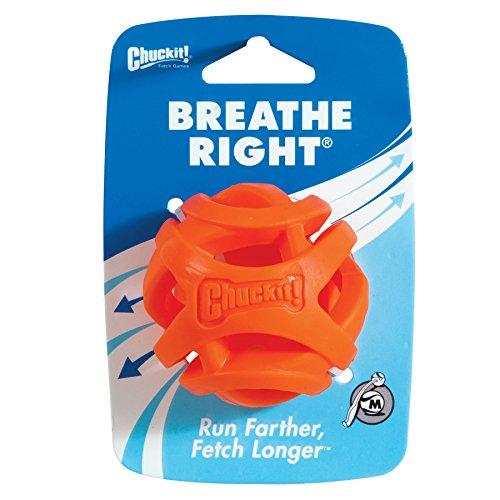 Chuckit! CU31932 Pelota Breathe Right Fetch Ball Medium, Bola De...