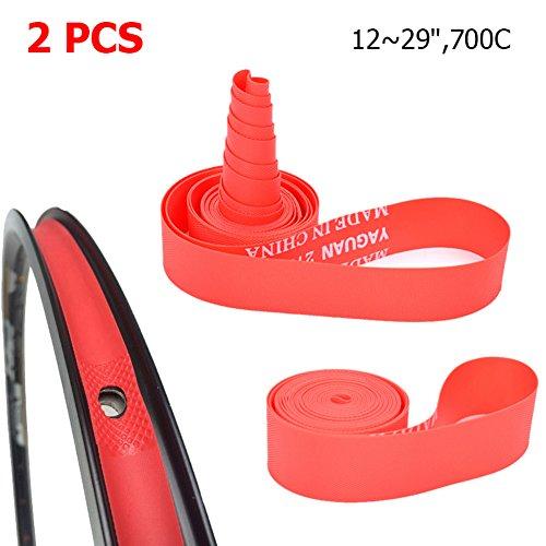 Unbekannt - Felgenbänder in rot, Größe 27.5