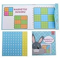 Tomaibaby スウドクーブ磁気ボードゲーム番号パズル旅行おもちゃスウドクーブキューブ番号テーブルゲーム脳デジタルパズルおもちゃ子供子供大人のための
