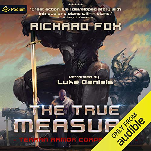 The True Measure Audiobook By Richard Fox cover art