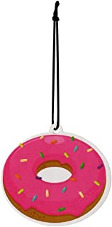(sweet Donut) - Donut Scented Hanging Air Freshener Car Bedroom Locker
