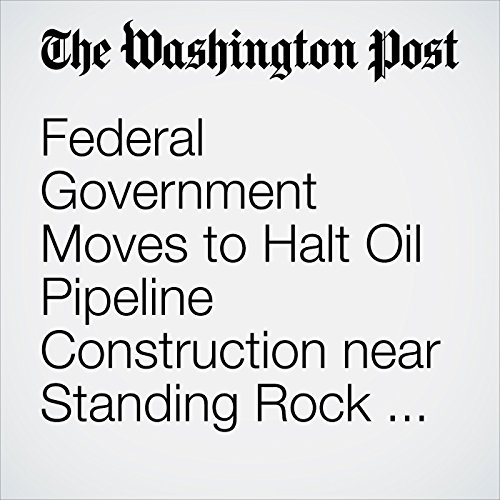 Federal Government Moves to Halt Oil Pipeline Construction near Standing Rock and Tribal Land cover art