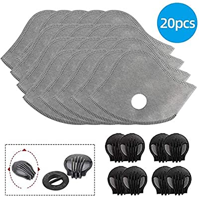 Activated Carbon Filters Replacement 20 PCS wit...