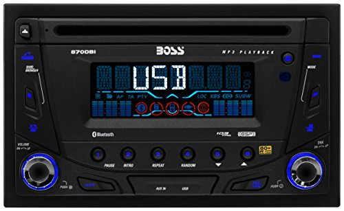 BOSS Audio Systems 870DBI Double-DIN CD MP3 Player Receiver