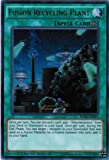 Yugioh Limited Ed Fusion Recycling Plant RATE-ENSP1 Ultra Rare Limited Edition Raging Tempest Cards