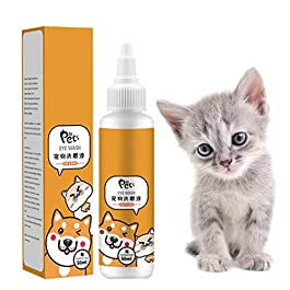 Abcidubxc 50 ml Tear Stain Remover Premium Vital Drops for Your Cat – Extra Developed for Cats, Health Care