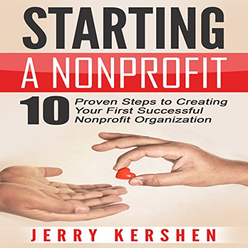 Starting a Nonprofit audiobook cover art