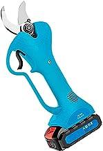 Draadloze elektrische snoeischaar met snijdiameter 30 mm krasbestendig handontwerp aangedreven boomtak snoeischaar met 2 S...