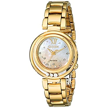 Citizen Women's Eco-Drive Watch with Diamond Accents, EM0322-53Y