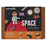 jackinthebox Space Themed Craft Kit Educational Toy Boys Girls | 3 Activities-in-1 Kit | Great Gift...