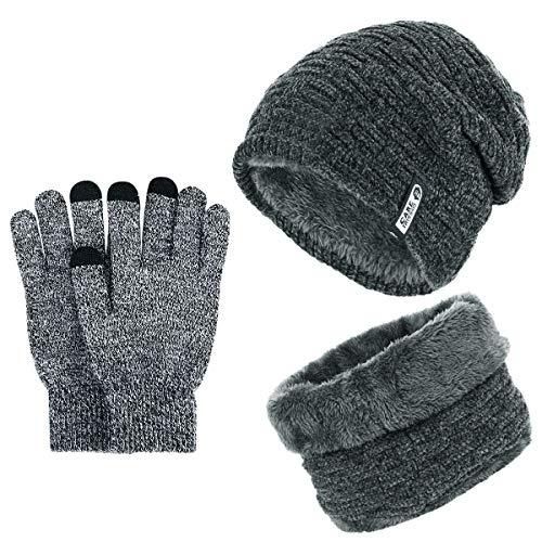 Men's Fleece Winter Hat Set Sale!