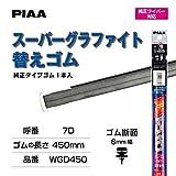 PIAA ワイパー 替えゴム 450mm スーパ�