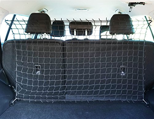 Ferocity Universaler Auto Netz Haustier Barrier Sicherheitsnetz Rücksitz Barriere Trennnetz 100x70 cm [058]