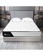 Avenco ポケットコイルマットレス シングル セミダブル ダブル 高反発マットレス シングルベッド ボンネルマットレス セミダブルベッド シングルベッド ベッドマットレス 寝具 快適睡眠 通気性抜群 底付き感無し 腰痛改善対策 10年保証