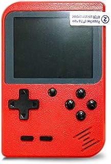 Console di Gioco 3 Pollici Gameboy Retro 400 Console di Gioco Super Mary Supporto TV Player for Kids Regalo ZRSZ Console di Gioco Portatile Nero