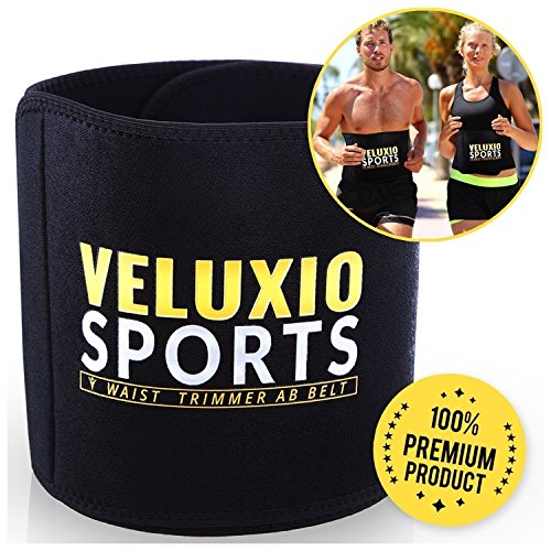 Veluxio Adjustable Waist Trimmer Belt For Men & Women