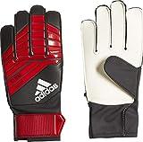 adidas Predator Junior - Guantes de Portero (Talla 4), Color Negro, Rojo y Blanco