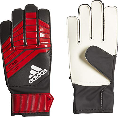 adidas Predator Junior Torwarthandschuhe, Black/Red/White, 4