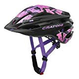 Cratoni Pacer Fahrradhelm MTB Allroundhelm (Black pink, S-M (54-58 cm))