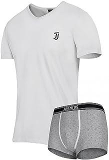 PLANETEX Completo Intimo Juve Ragazzo Juventus Maglietta e Slip *05372