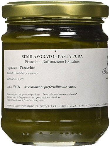 Brontedolci - Pâte Pur 100% de Pistache - Pistache Verte Etna gr. 190