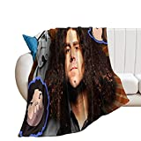 Flannel Fleece Throw Blanket, Coheed - Cambria Throw Blanket, Super Soft Lightweight Flannel Fleece Blankets for Bed Couch Sofa, All Season Warm Cozy Fuzzy Plush Microfiber Blanket for Hot Sleepers.