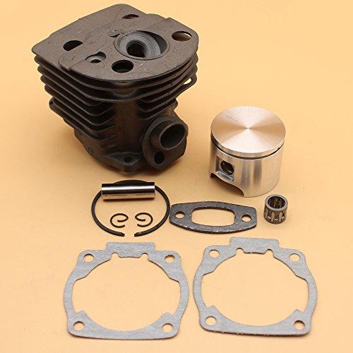 46 mm Cylindre Piston Assy W/de joints pour Husqvarna 51 55 Rancher Chainsaw pièces de moteur # 503 60 91 71