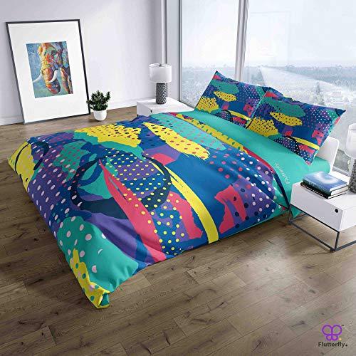 Flutterfly duvet cover king size superk duvet cover queen superk bedding set bed set queen housse de couette superking Modern Sportswear (575-1163) design