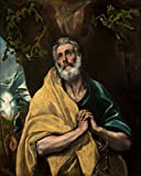 EL Greco - Saint Peter in Tears - Extra Large - Archival
