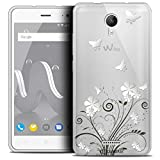 Case for 5 inch Wiko Jerry 2, Summer Butterflies Design