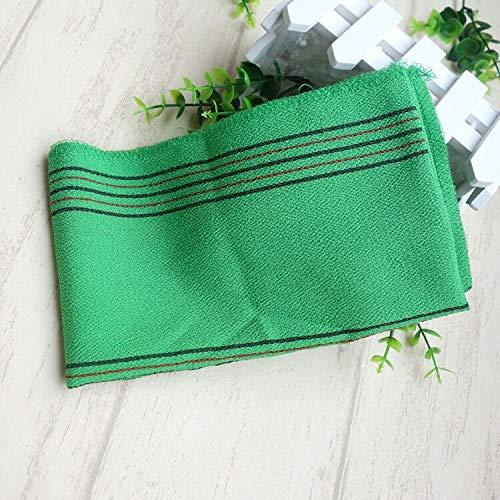 esponja baño natural,guante de crin,esponja lufa,cepillo espalda ducha,5 unids/lote color verde toalla...