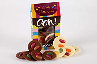 Ooh! Chocolata Very Jelly D'Ooh! Dahs Milk and White Chocolate Discs (1 Pack)