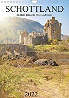 Schottland -Schottische Highlands (Wandkalender 2022 DIN A4 hoch): Dieser wunderbare Kalender nimmt Sie mit auf einen Trip durch die beeindruckenden Schottischen Highlands. (Monatskalender, 14 Seiten )